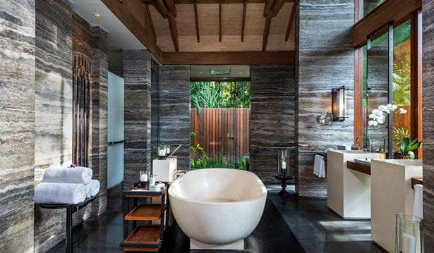 The Datai Langkawi - One Bedroom Beach Villa (Bathroom)