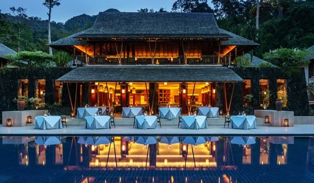 The Datai Langkawi - The Dining Room (Exterior)