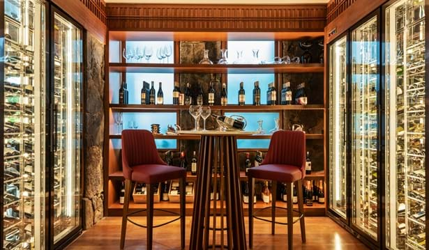 The Datai Langkawi - The Dining Room (Walk-in Wine Cellar)