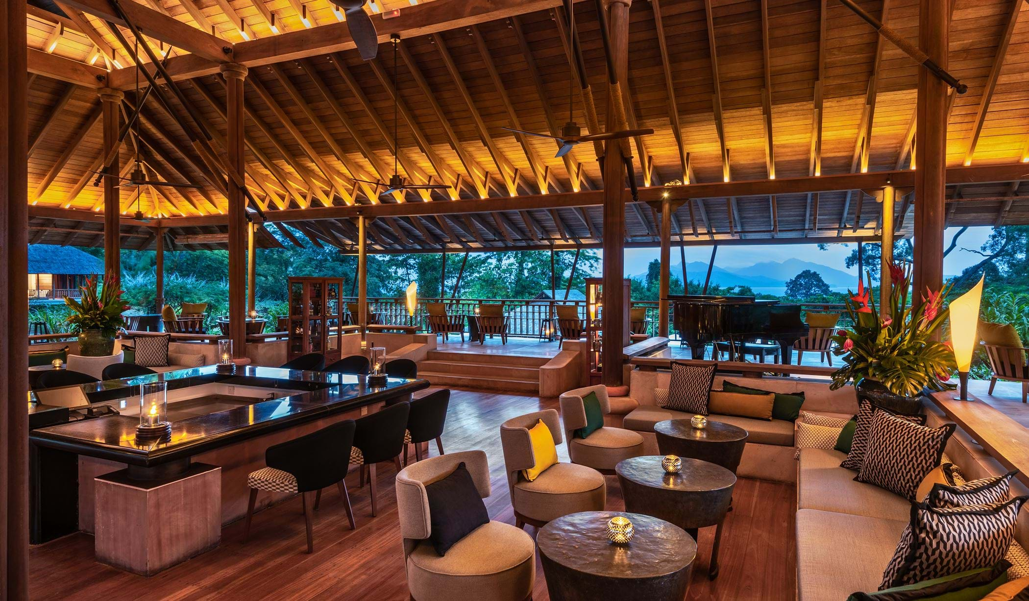 The Datai Langkawi - The Lobby Lounge