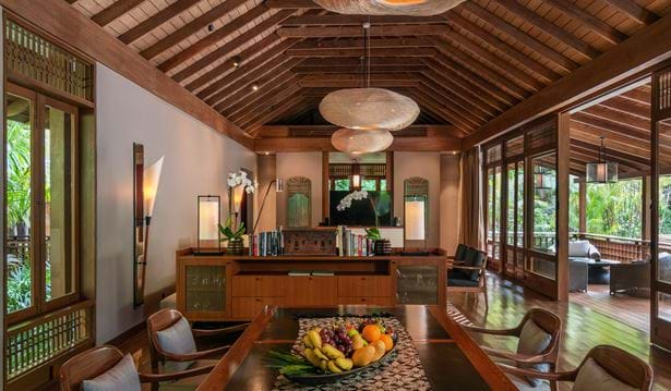 The Datai Estate Villa - Seraya Dining Room